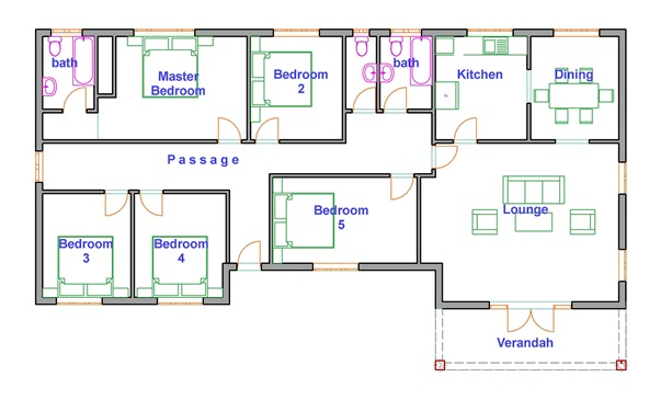 house plans online zimbabwe