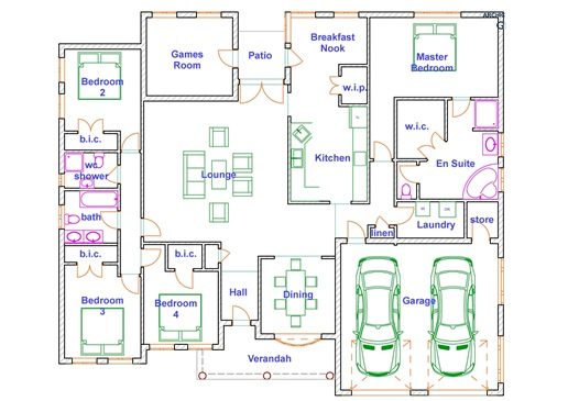Four bedroomed house plans in zimbabwe modern house for House floor plans zimbabwe