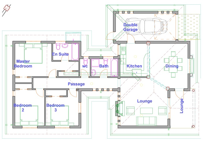 House plans zimbabwe building plans architectural services for Building plans images